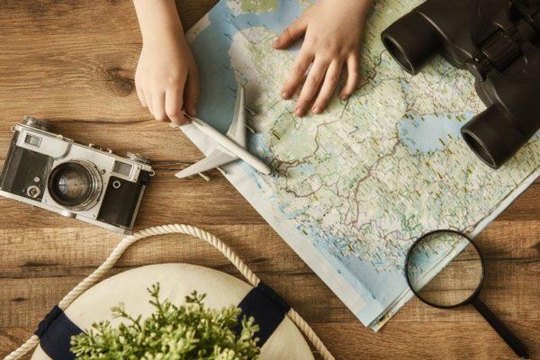making travel plans
